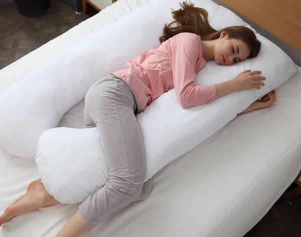 Cheer Collection Alternative Down U Shape Pillow
