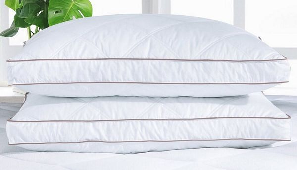 St. James Home Quilted Goose Feather and Down Pillow