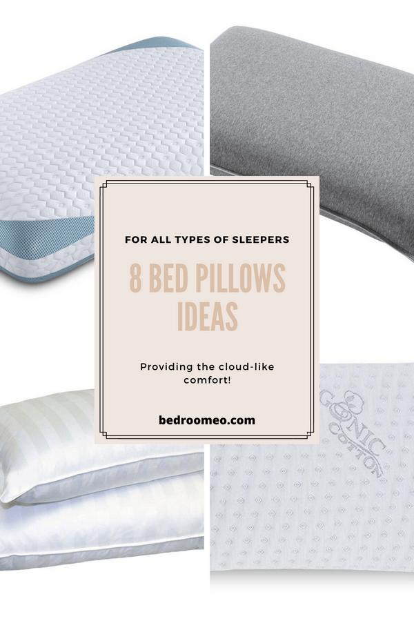 bed pillows ideas