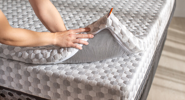 copper infused mattress topper