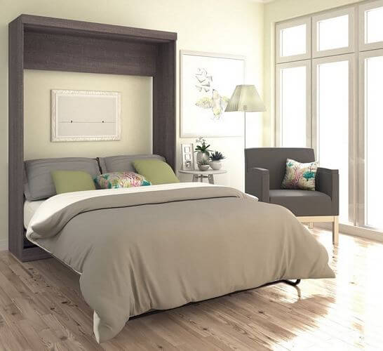 Bestar-Pur-Queen-size-Wall-Bed
