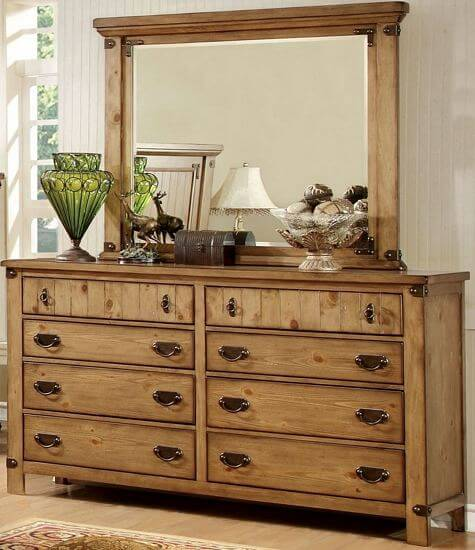 Furniture-of-America-Sierren-Country-Style-2-piece-Dresser-and-Mirror-Set