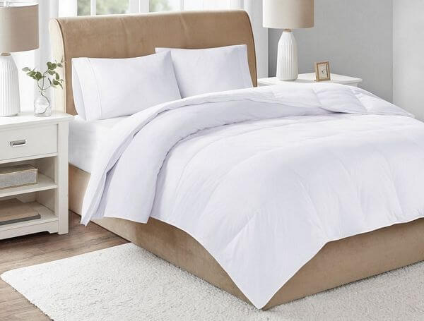 True-North-by-Sleep-Philosophy-Level-3-White-300-Thread-Count-Cotton-Sateen-White-Down-Comforter