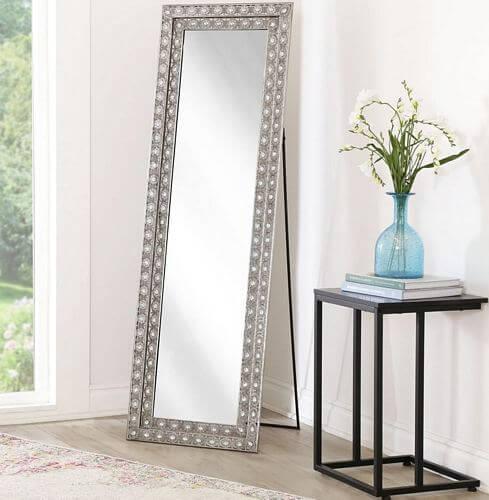 Abbyson-Melania-Floor-Mirror-Silver