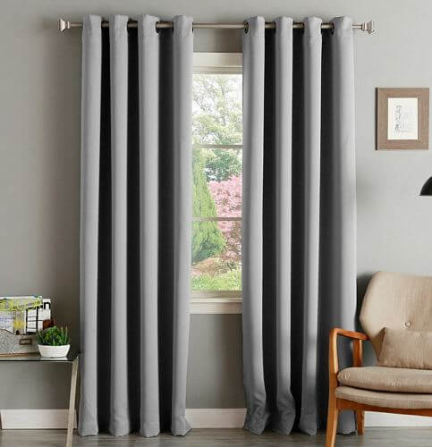Aurora-Home-Thermal-Insulated-Blackout-Grommet-Top-Curtain-Panel-Pair