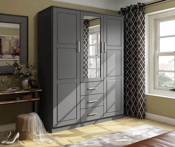 Cosmo-Solid-Wood-3-Door-Wardrobe-With-Mirror