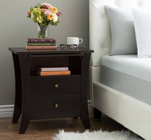 Furniture-of-America-Mendolla-Modern-Espresso-2-Drawer-Nightstand