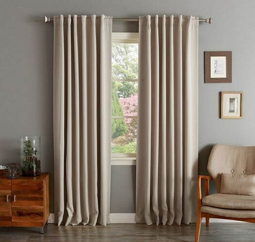 Solid-Insulated-Thermal-Blackout-Curtain-Panel-Pair