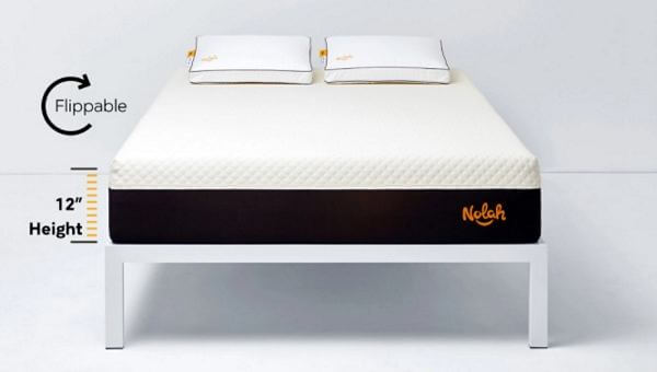 Filippable mattress in a box