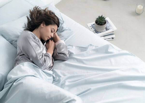 silver-infused bed sheets