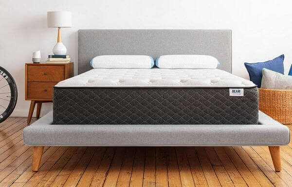 mattress with strong edge support