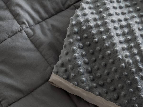 weighted blanket with washable cover