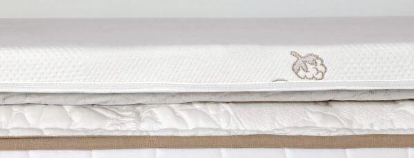 Saatva graphite mattress topper