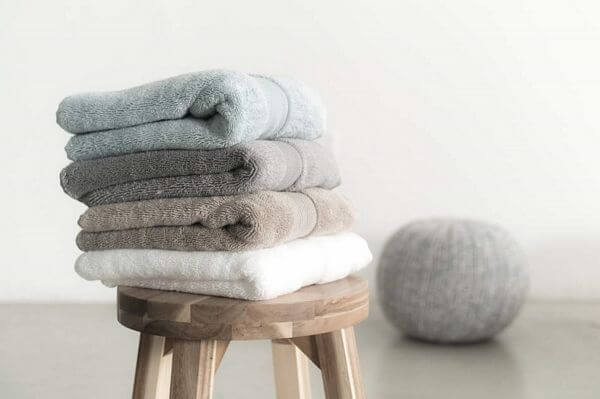silver infused bath towels