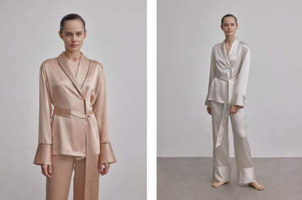 women's silk nightwear