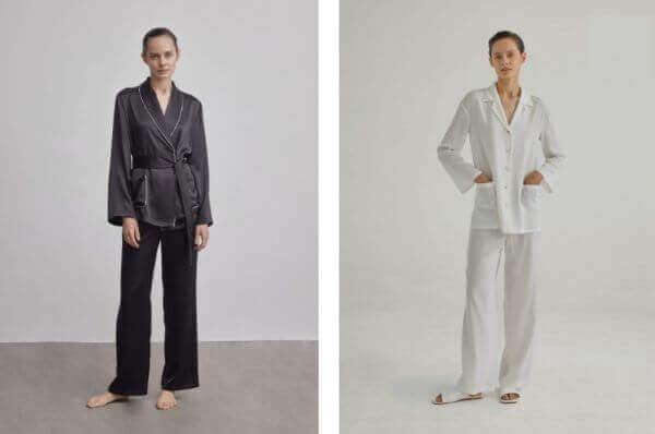 real 100% silk nightwear