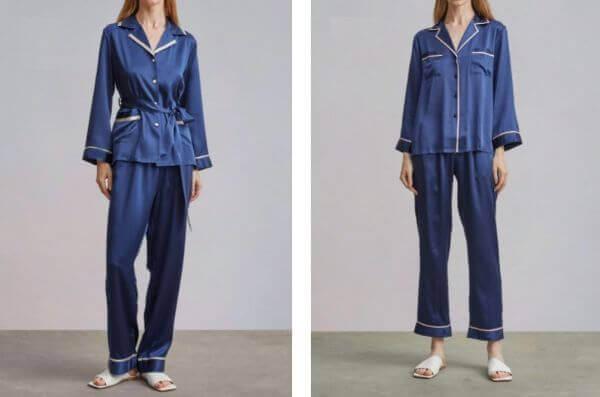 women's silk sleepwear